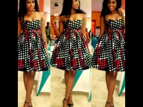 Latest Short and Classy African Dresses, Skirts and Blouses, African Print Styles