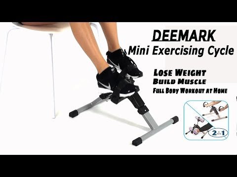 deemark mini exercising cycle  full body workout at home