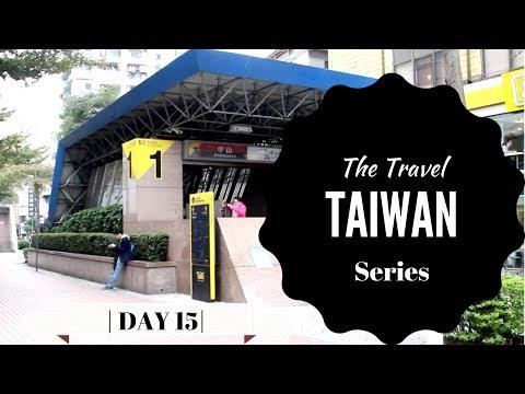 Songshan Cultural Park & Zhongshan District (Travel Taiwan Series Day 15)✈️🇹🇼