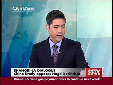 The US secretary of defense Chuck Hagel criticises China over handling of disputes