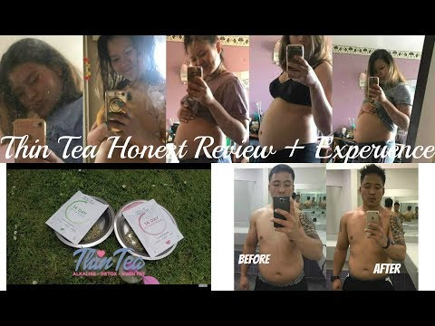 Thin Tea Review: First time/Fat Burning /Pregnancy/100%Natural