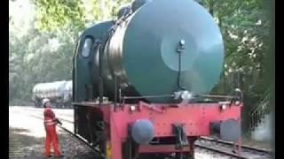 Fireless Steam Locomotive in Herne, Germany, Dampfspeicherlok