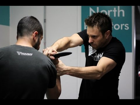 Knife Threat Defense - Krav Maga Technique - KMW Krav Maga Self Defense w/ AJ Draven