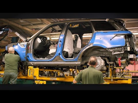 2018 Range Rover PRODUCTION - Dauer: 10 Minuten