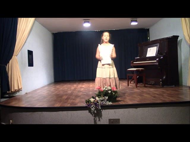 Piano entzunaldia, maiatzak 26 // Audición de piano, 26 de mayo