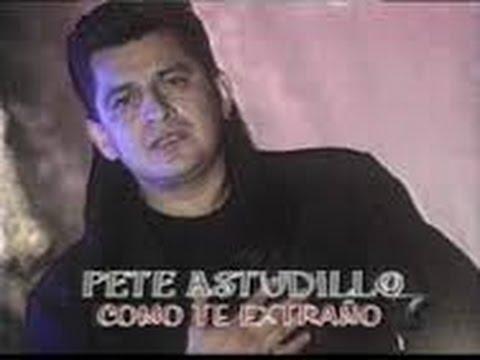Como Te Extraño - Pete Astudillo - Karaoke