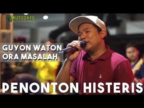 SEMUA PENONTON BERNYANYI!!! Ora Masalah - Ora Masalah LIVE Concert At UNY 2018