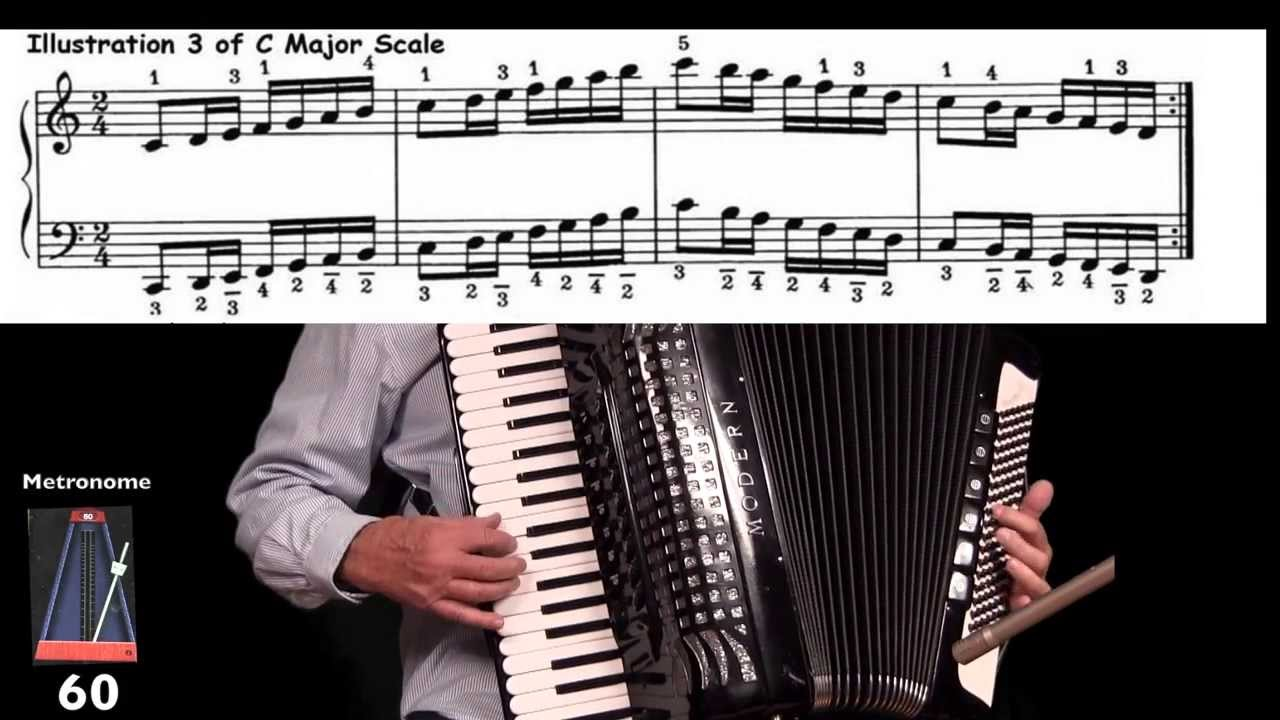 Accordion lesson 3 major scales and chords improve your playing accordion lesson 3 major scales and chords improve your playing lee terry meisinger youtube hexwebz Choice Image