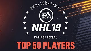 NHL 19 | TOP 50 PLAYERS REVIEW (50-1)