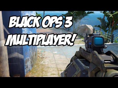 CALL OF DUTY BLACK OPS 3 - MULTIPLAYER GAMEPLAY no Mapa Aquarium!
