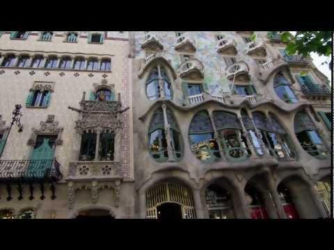 Gaudi's Casa Batllo Inside