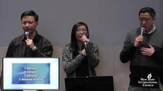New Hope International Church Sunday Worship Service : 01/10/2016