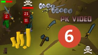 Runescape 2007 - F2P PK Video #6 (35m+)