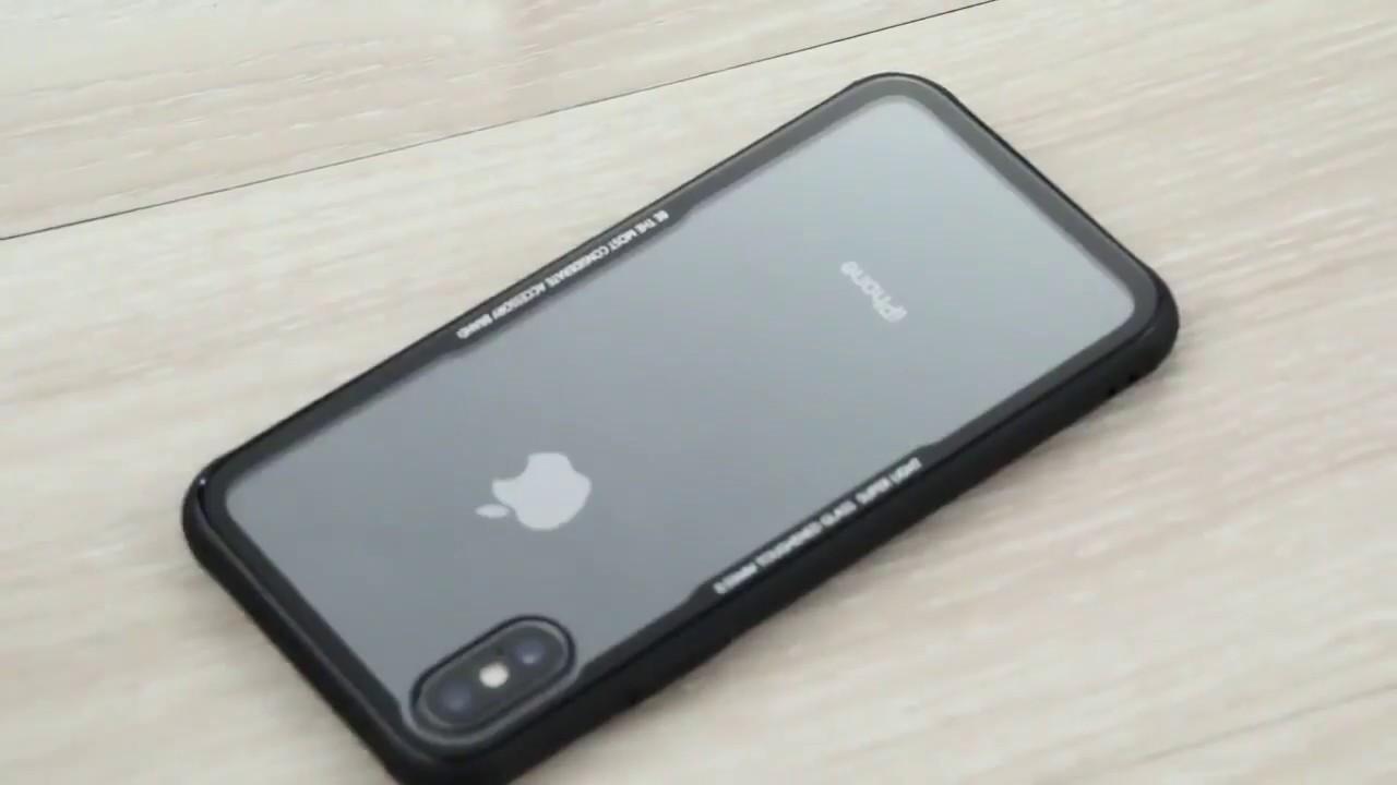 Cafele Original Phones Cases For Iphone 6 7 8 X 10 Case Tpu Tempered Glass Xiaomi Redmi Note 5 Back Cover