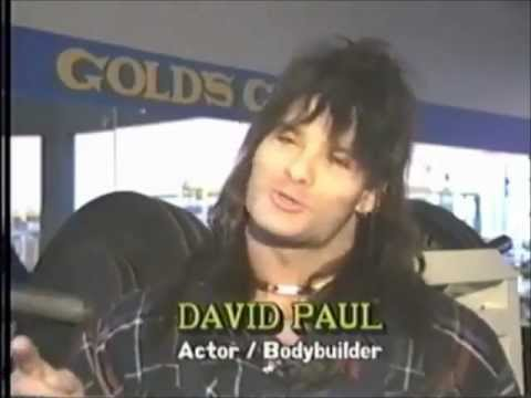 David Paul (Barbarian Brothers) at Golds Gym