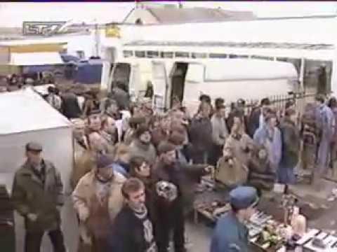 Sprogimas Vilniaus Kalvarijų turguje 1996m (LNK TV)