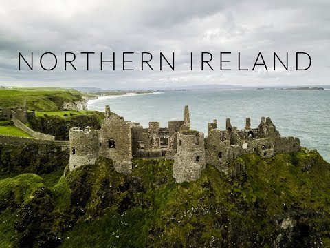 NORTHERN IRELAND BY DRONE - AERIAL DRONE VIDEO (HD)