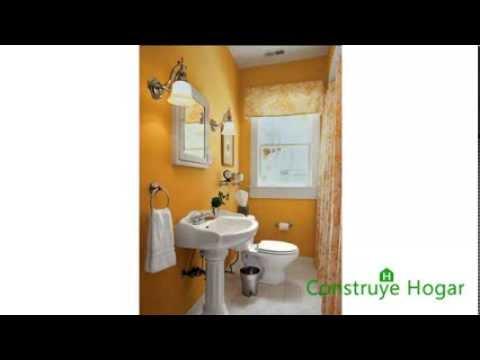 Diseño de cuarto de baño pequeños y medianos - YouTube