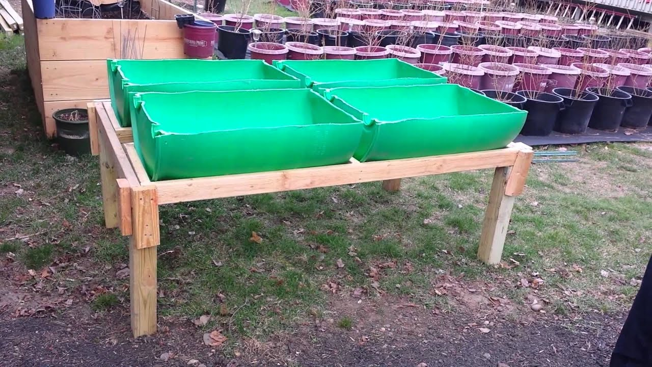 Raised 55 gallon barrel garden PT 2