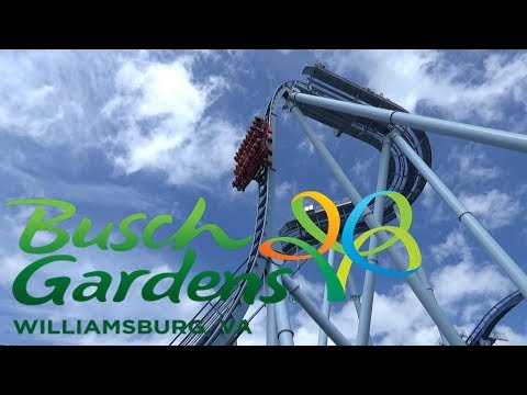 Busch Gardens Williamsburg 2017 Tour & Review with The Legend