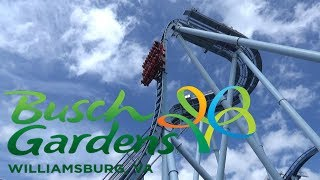 busch gardens williamsburg tour review with the legend