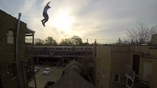 GoPro Epic Roof Jump