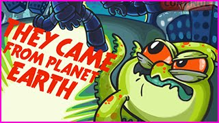 THEY CAME FROM PLANET EARTH Walkthrough