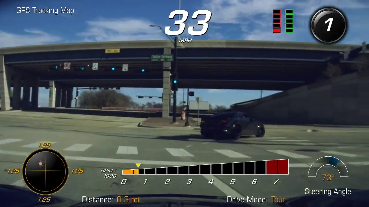 Hellcat Can't Run Away From Procharged D1X C7