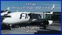 Finnair | Airbus A350-900 | Los Angeles - Helsinki