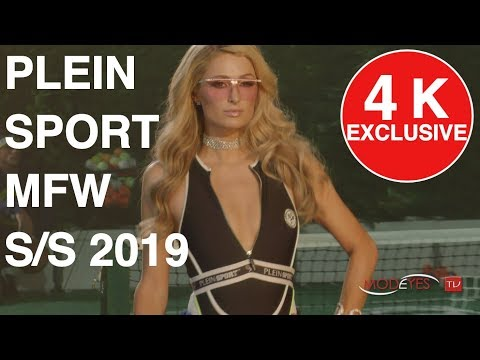 PLEIN SPORT | SPRING SUMMER  2019 FASHION SHOW | EXCLUSIVE TV UHD backstage