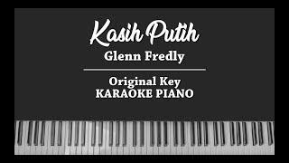 Kasih Putih KARAOKE PIANO COVER Glenn Fredly