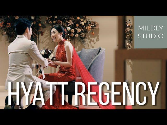 Wedding Cinematography @ Hyatt Regency Bangkok Sukhumvit วีดีโองานหมั้น ณ โรงแรมไฮแอทรีเจนซี่