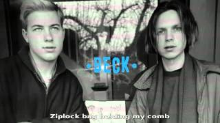 Watch Beck Ziplock Bag video