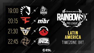 Rainbow Six Pro League - LATAM - Season XI - Playday #5