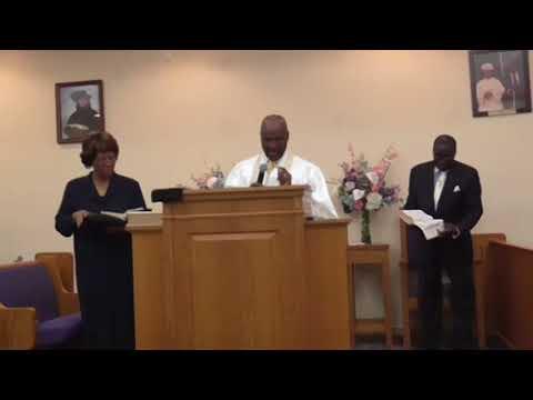 5/6/2018 Sunday Morning Service-Pastor Virgil Smith, First Born Holy Church, Grimesland NC