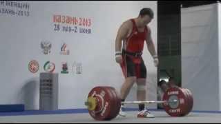 Мужчины до 85 кг Толчок ЧР 2013