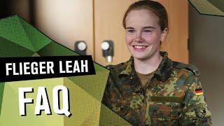 FAQ Flieger Leah | DIE REKRUTINNEN | SPECIAL