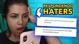 RESPONDENDO HATERS!!! *REVOLTEI*