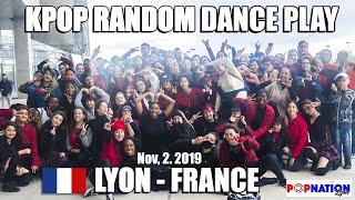 POPNATIONLYON's KPOP RANDOM DANCE PLAY IN PUBLIC, LYON — FRANCE, Nov, 2. 2019