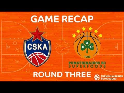 Highlights: CSKA Moscow - Panathinaikos Superfoods Athens