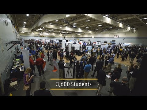 Preview image for Michigan Tech 2108 Fall Career Fair video