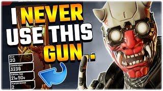 I NEVER Use this Gun then I got 20 KILLS.. (Apex Legends PS4)
