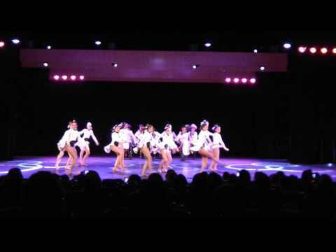 Symphonie 1er prix jazz intermédiaire et grand prix du jury NFL danse 2017 spotlight dance studio