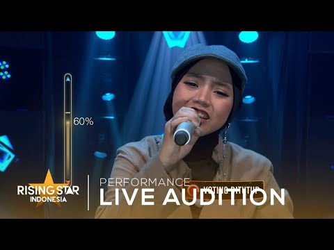 Salma Faradhila 'Rapuh' | Live Audition 6 | Rising Star Indonesia 2019