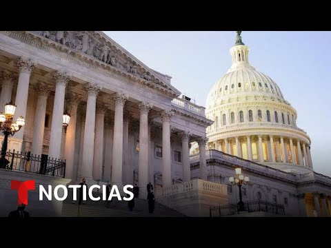 La Cámara de Representantes vota el paquete de ayuda que incluye cheques de $1,400 | Telemundo