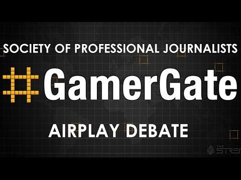 #SPJAirplay #GamerGate Debate