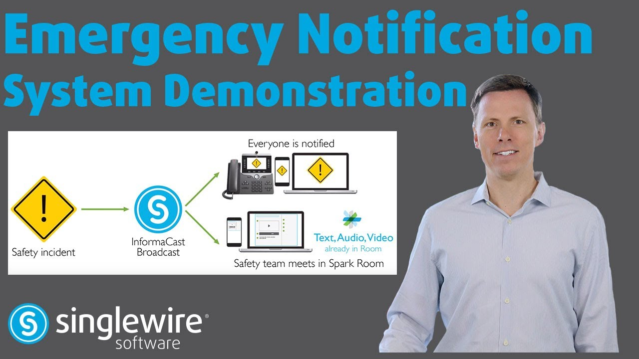 InformaCast Emergency Notification System Demonstration
