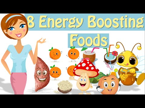8 Foods That Give You Energy, Natural Energy Booster