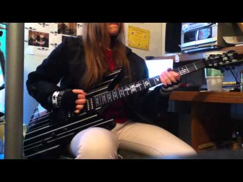 Famous Last Words- The Show Must Go On guitar cover- Kaity Confession