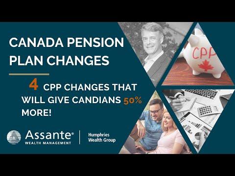 Canada Pension Plans